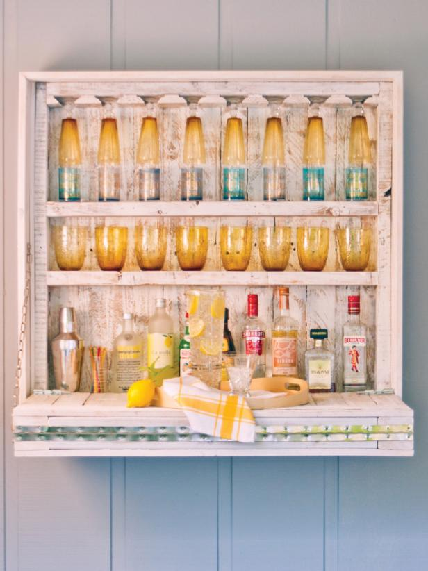 Tight on space? Build a hanging bar.