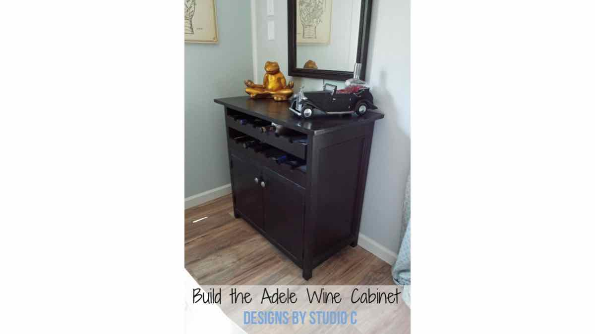 wine racks,wine cabinets,free woodworking plans,furniture,projects,diy