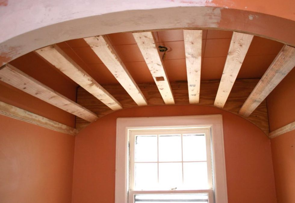 Build a Barrel Ceiling in a Small Space.