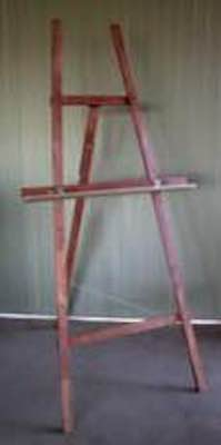 Free plans to build this Easel.