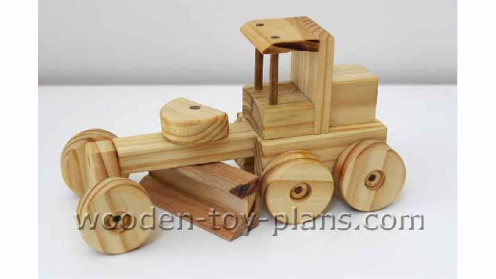 construction toys,wooden,road grader,free woodworking plans,projects,diy,childrens,childs,kids