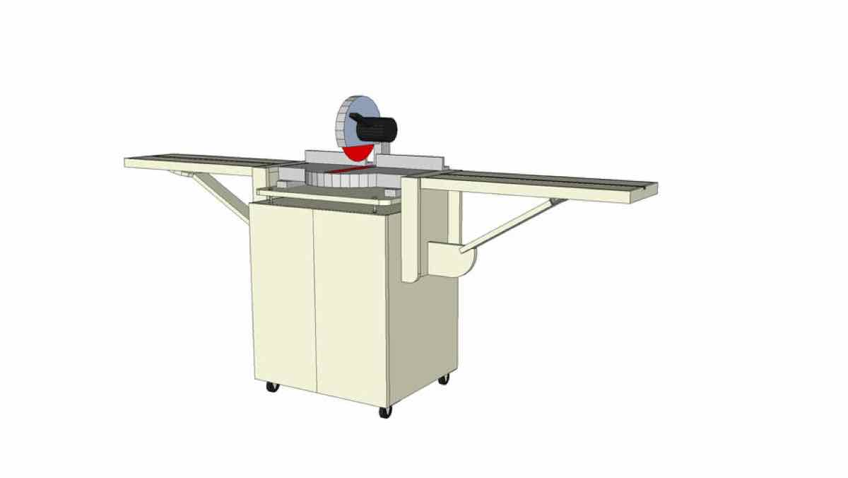 mitersaw stations,sketchup,Google 3D,3-D warehouse,free woodworking plans,workshop projects,do it yourself