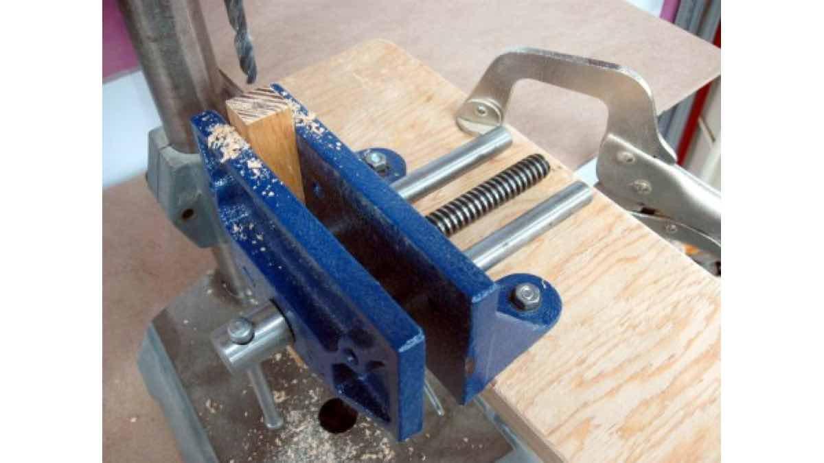 end boring,drill press,jigs,workshops,free woodworking,diy