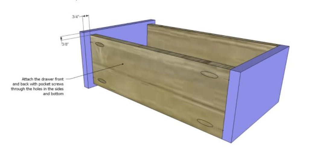 Free plans to Build a Drawer.