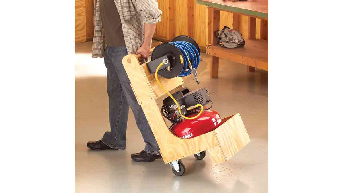 How to build an Air Compressor Cart