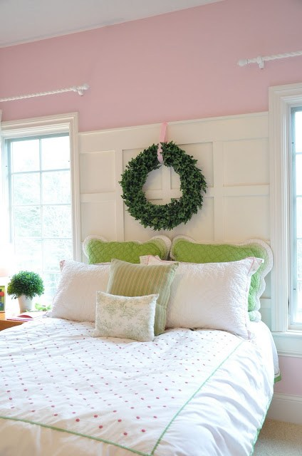 How to build a Panelled Headboard free project.
