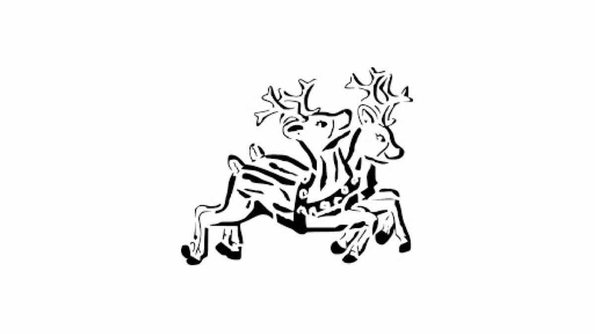 christmas,reindeer,scrollsaw,free woodworking,patterns,scroll saw