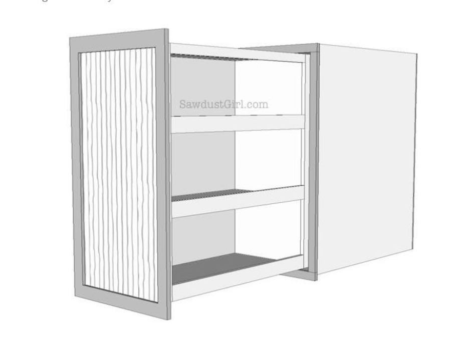 Free plans to build a Pull Out Cabinet.