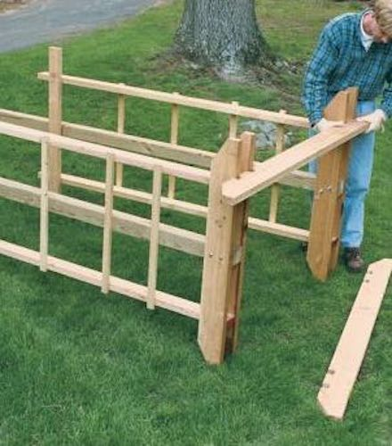 Build a Sturdy Arbor using free plans.