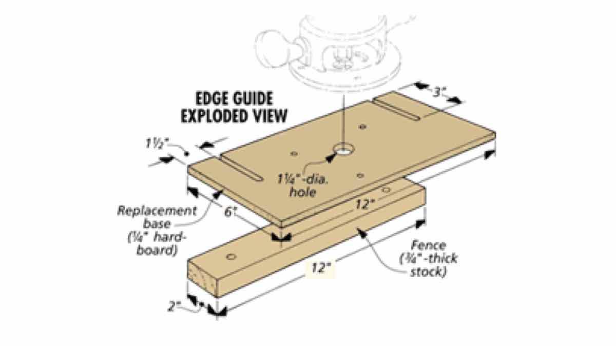 DIY a Router Edge Guide