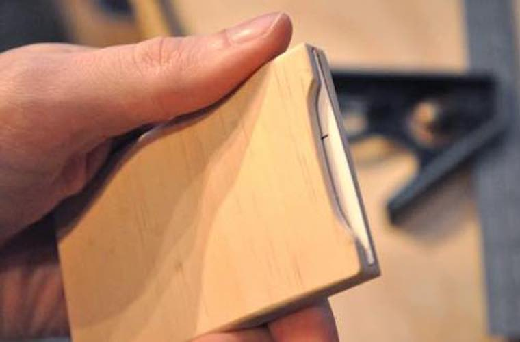 Free plans to build a Business Card Holder.