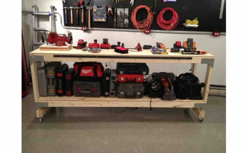 How to build a Heavy Duty Workbench free project