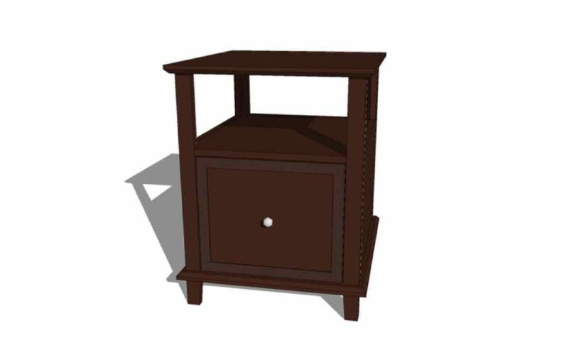Walmart Style One Drawer End Table