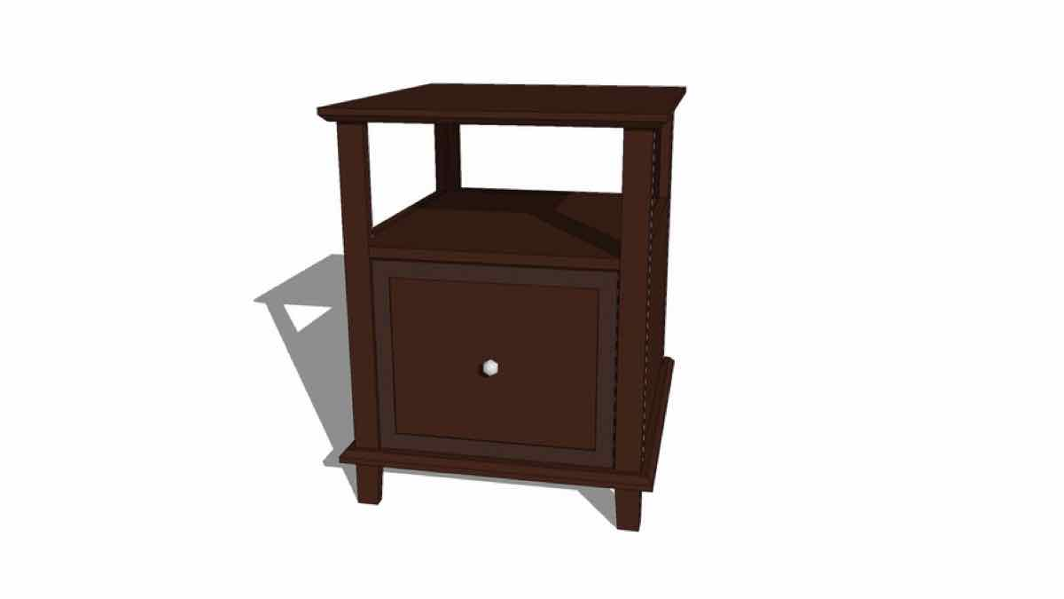 end tables,drawers,furniture,free woodworking plans,projects,diy