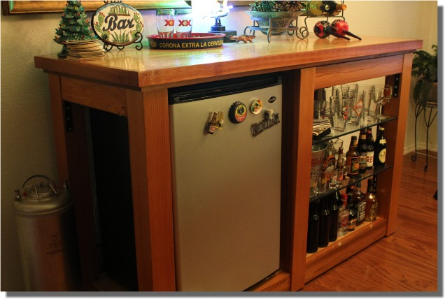 Build a bar with these free plans.