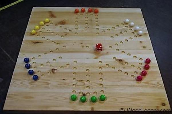 Build a Marble Game Board using free plans.