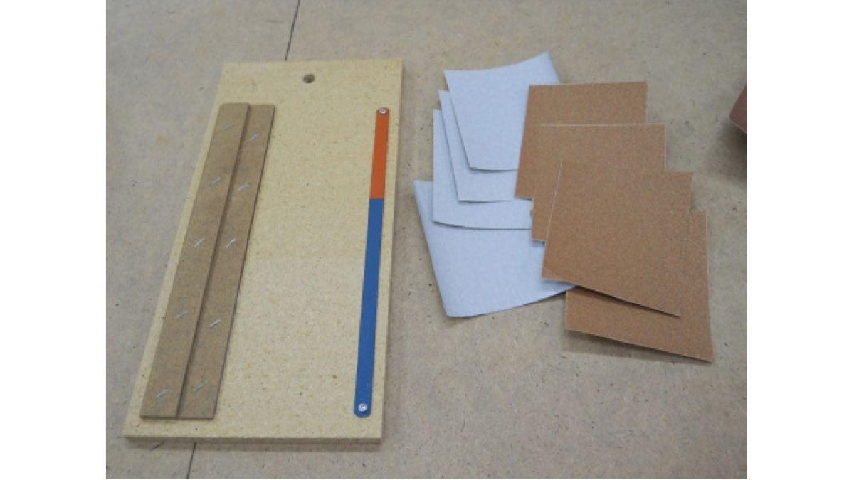 How to Make a Workshop Sandpaper Cutter