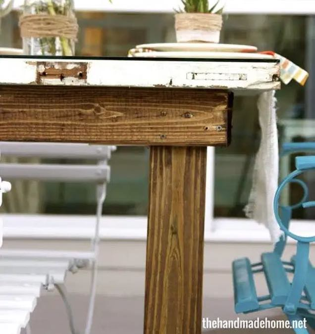 How to build a Table from old Door.