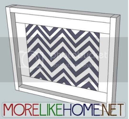 Build a Simple Picture Frame using free plans.