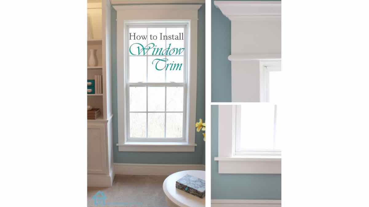 trim,moldings,installation,free woodworking plans,projects,window casings