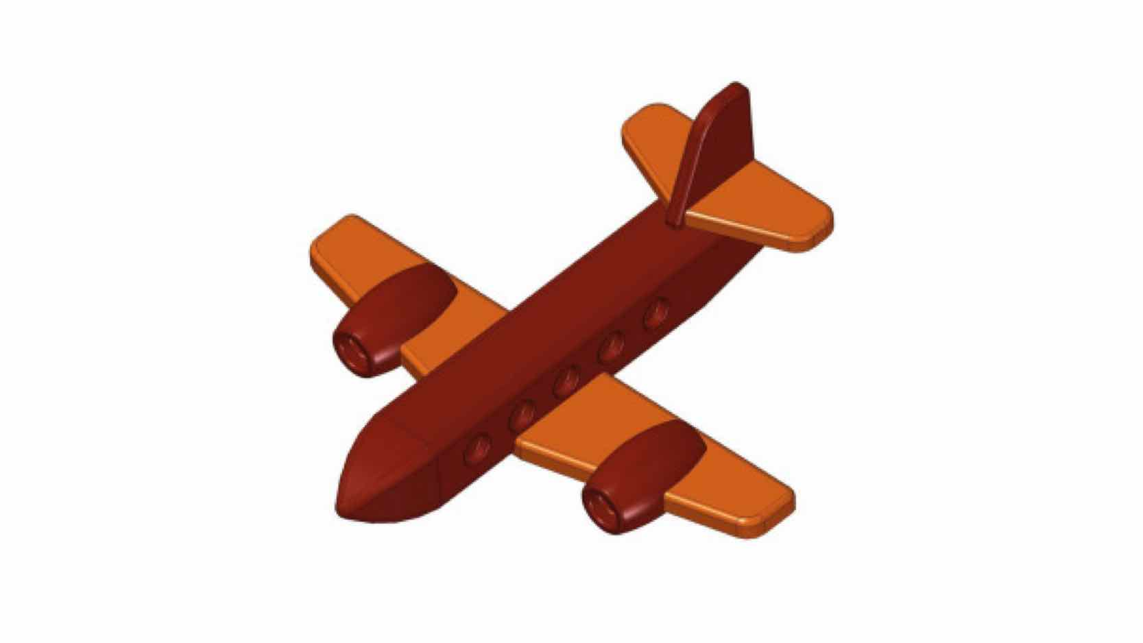 Free Wooden Airplane Toy Plans