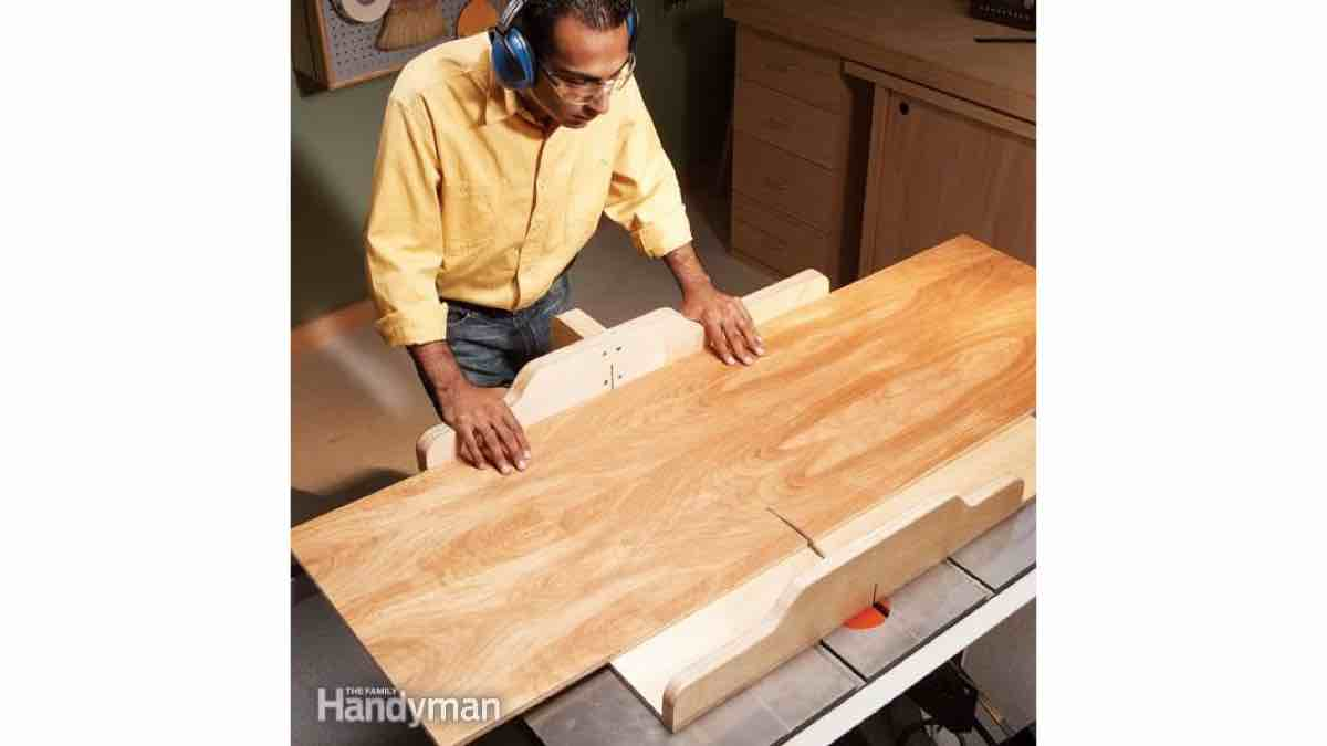 How to build a Handyman Tablesaw Sled