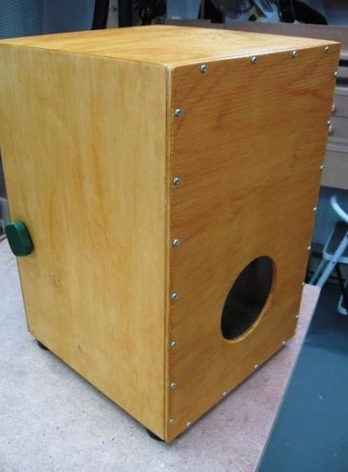 Learn how to Build a Cajon Drum.