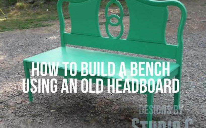 Bench from Headboard