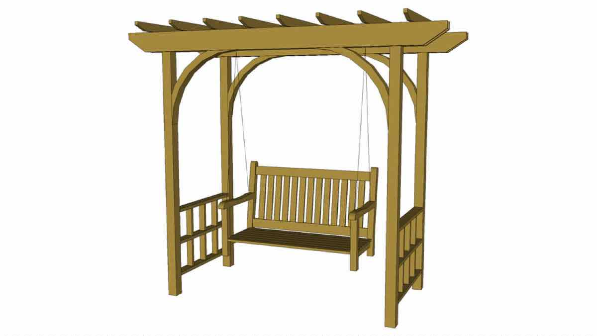 arbors,swings,trellis,diy,free woodworking plans,free projects,do it yourself