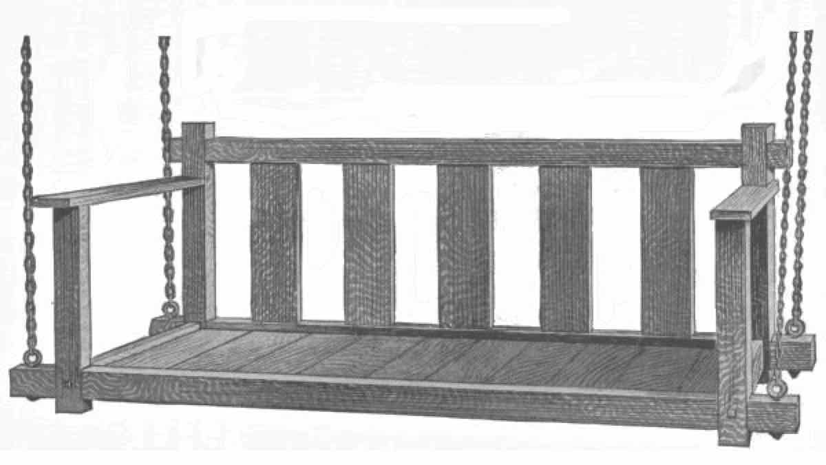 porch swings,mission style,diy,free woodworking plans,free projects,do it yourself