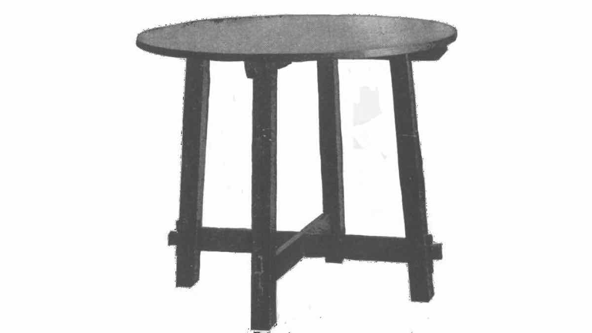 tables,round,furniture,free woodworking plans,projects,diy