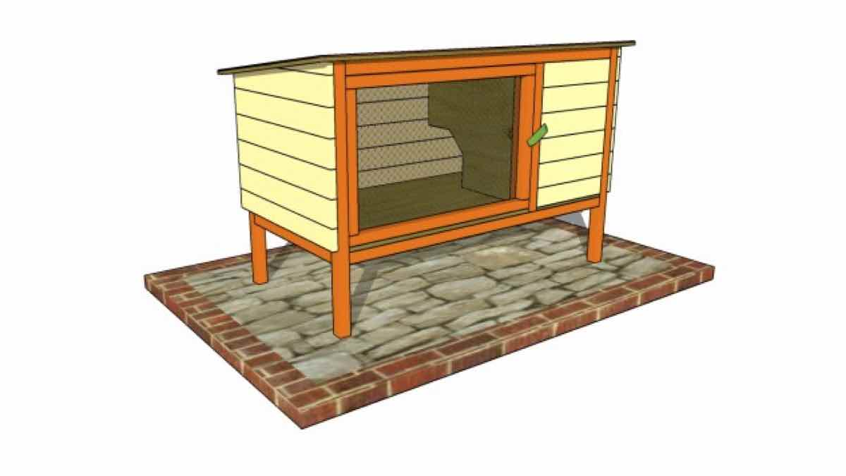 rabbit hutches,outdoors,diy,free woodworking plans,free projects,do it yourself