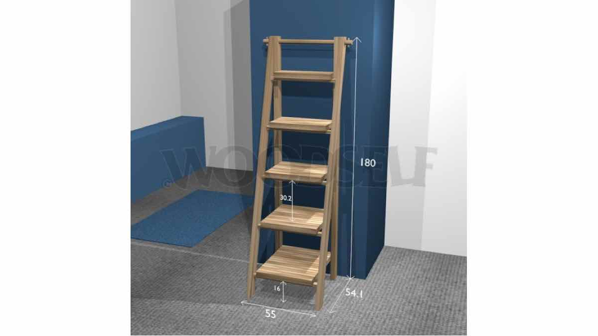 ladder shelves,ladder shelfs,diy,free woodworking plans,free projects,do it yourself