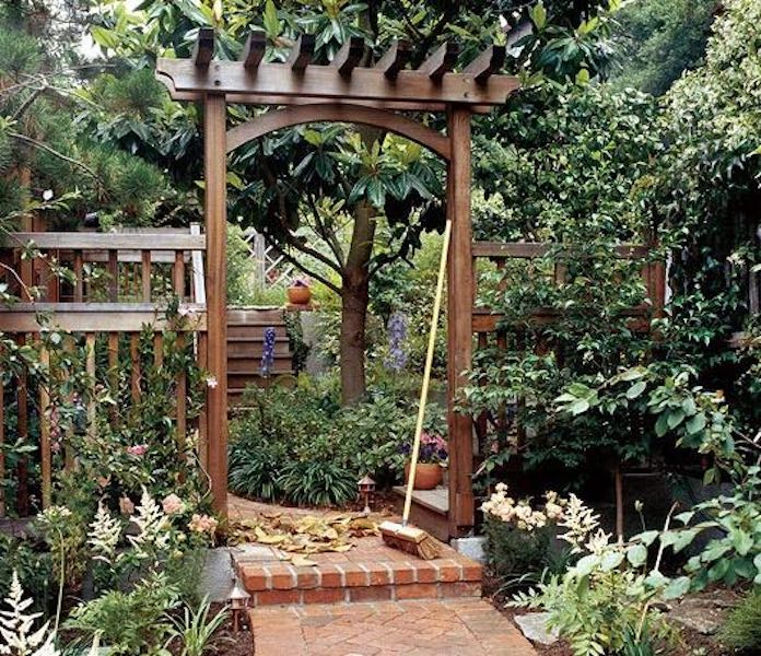 Learn How to Build an Arbor using free plans.
