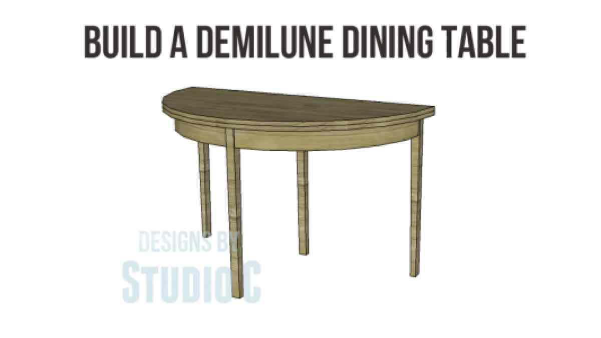 furniture,tables,diy,free woodworking plans,free projects,do it yourself,demilune