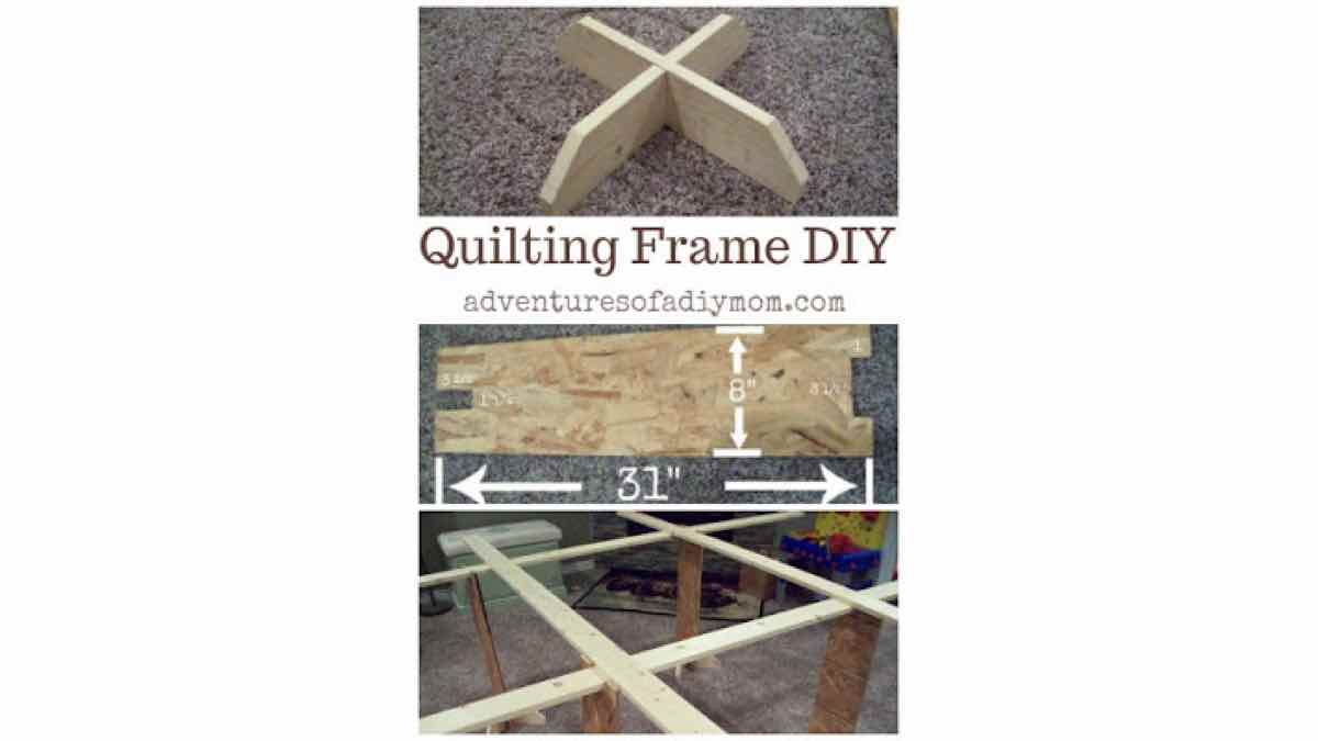 quilting frames,wooden,diy,free woodworking plans,free projects,do it yourself