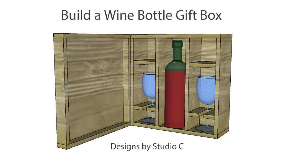 wine box,wooden,diy,free woodworking plans,free projects,do it yourself