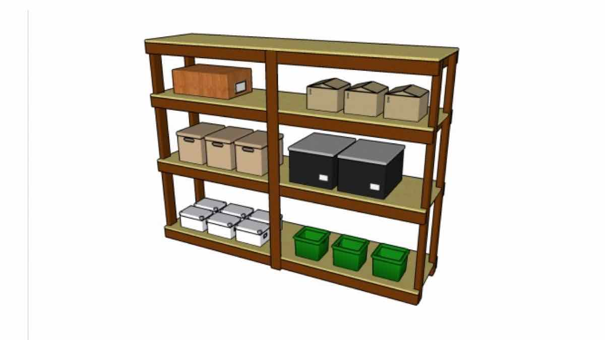 garage shelving,storage,diy,free woodworking plans,free projects,do it yourself