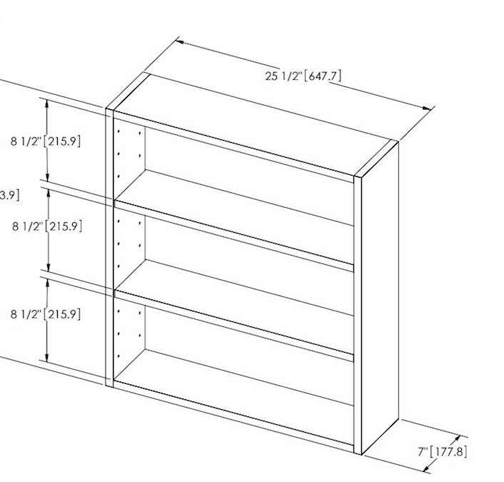 Build a CD DVD Storage Cabinet using free plans.