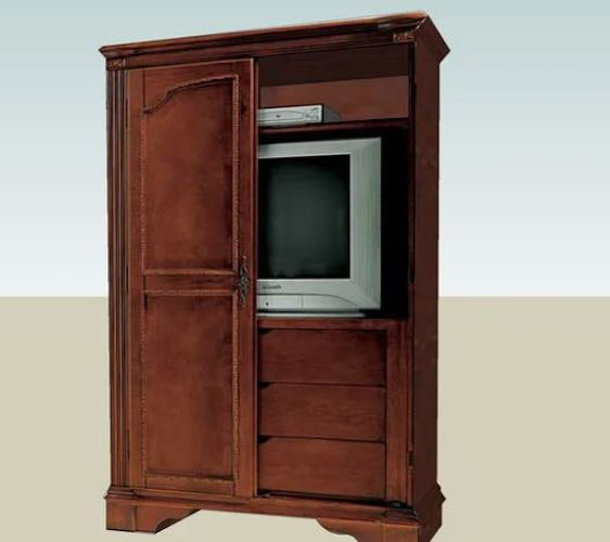 Free plans to build a TV Armoire.