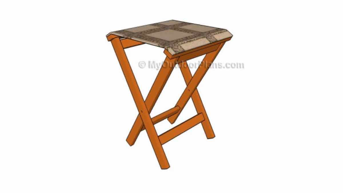 stools,folding stools,furniture,diy,free woodworking plans,free projects,do it yourself
