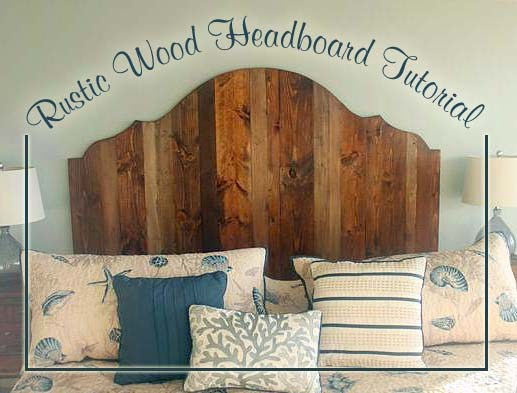 Rustic King Size Headboard