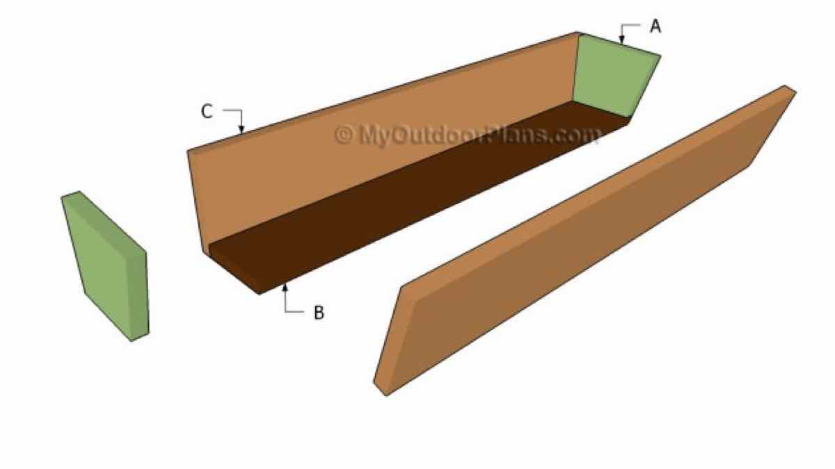 window box,flower box,diy,free woodworking plans,free projects,do it yourself