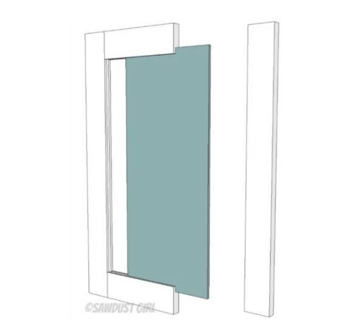 Free plans to build Cabinet Doors.