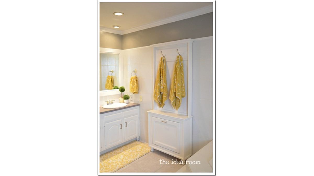 towel racks,bathrooms,cabinets,diy,free woodworking plans,free projects,do it yourself