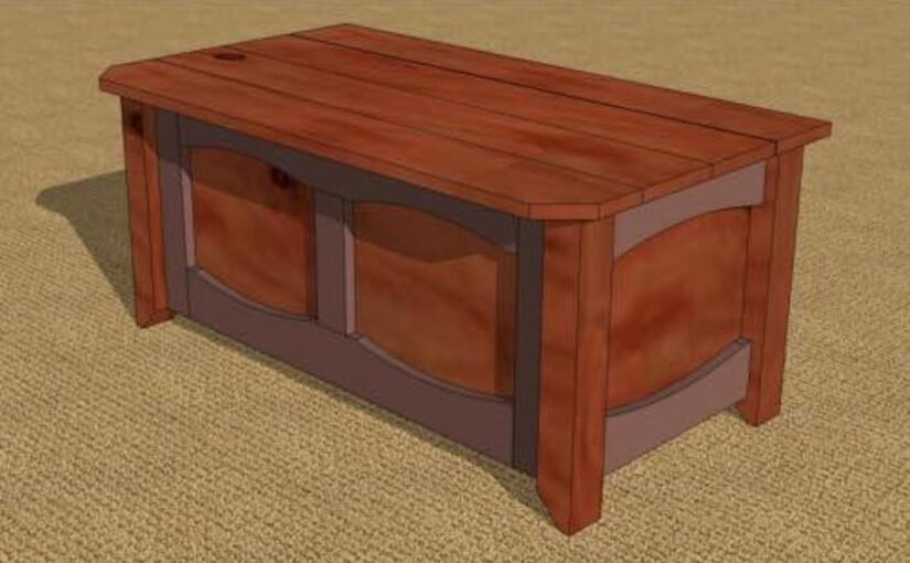 Storage Bench PDF