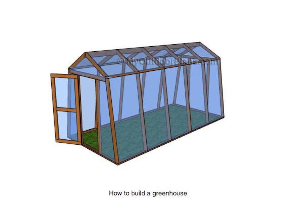 Learn how to build a Greenhouse Frame.