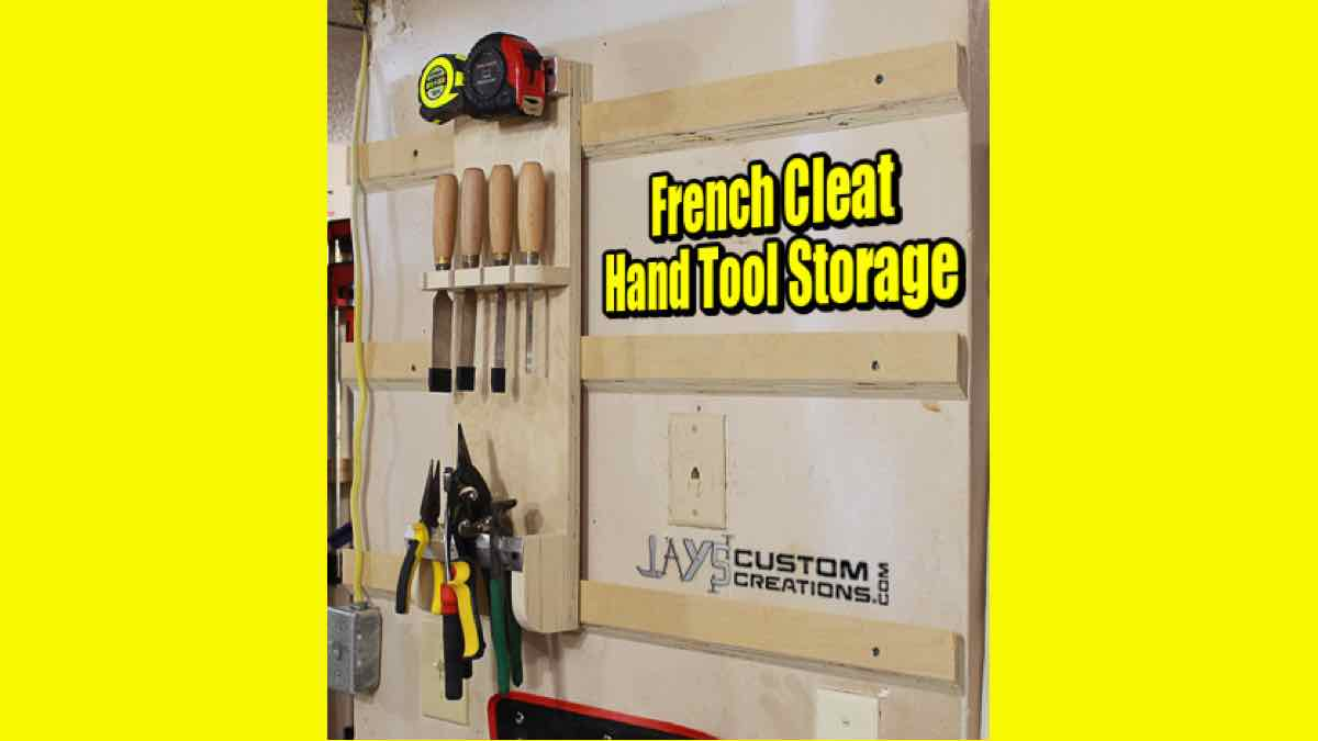 french cleats,wall mounted,tool holders,free woodworking plans,free projects,do it yourself,diy