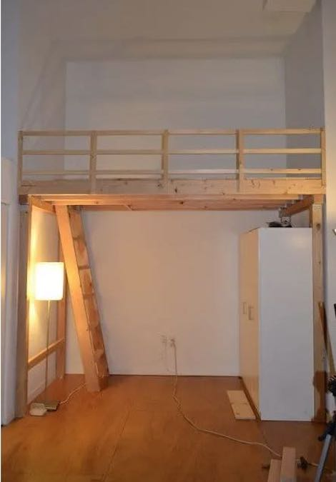 Free plans to build your own Loft.