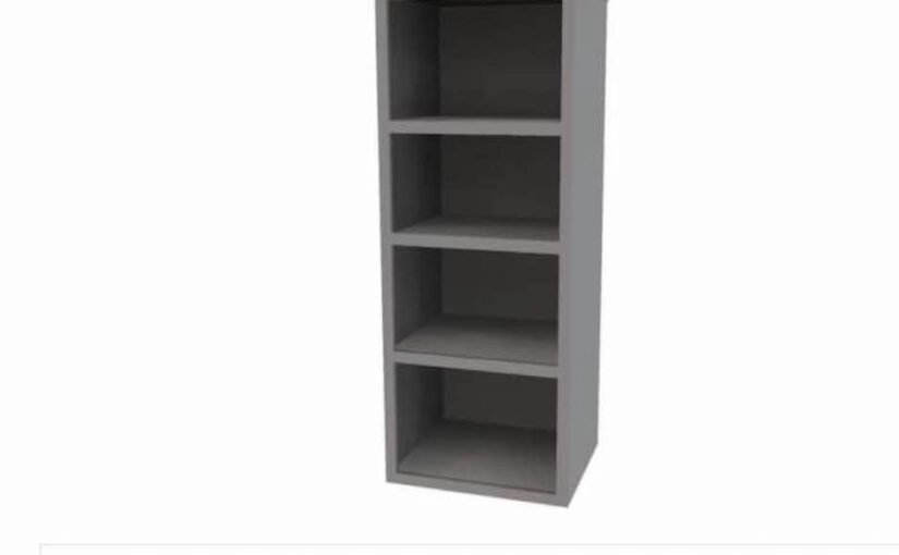 Free plans to build a Tall Bookcase.